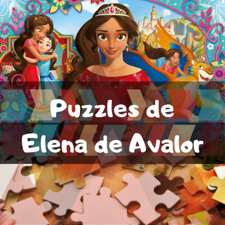 Los mejores puzzles de Elena de Ávalor