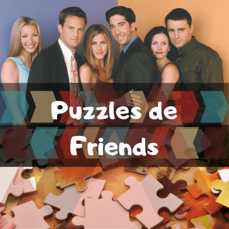 Los mejores puzzles de Friends