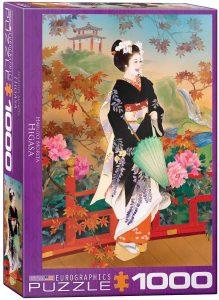 Los mejores puzzles de Geishas - Puzzle de Geisha de 1000 piezas de Eurographics 2