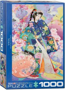 Los mejores puzzles de Geishas - Puzzle de Geisha de 1000 piezas de Eurographics