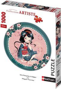 Los mejores puzzles de Geishas - Puzzle de Geisha de 1000 piezas de Nathan