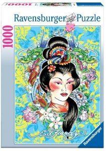 Los mejores puzzles de Geishas - Puzzle de Geisha de 1000 piezas de Ravensburger