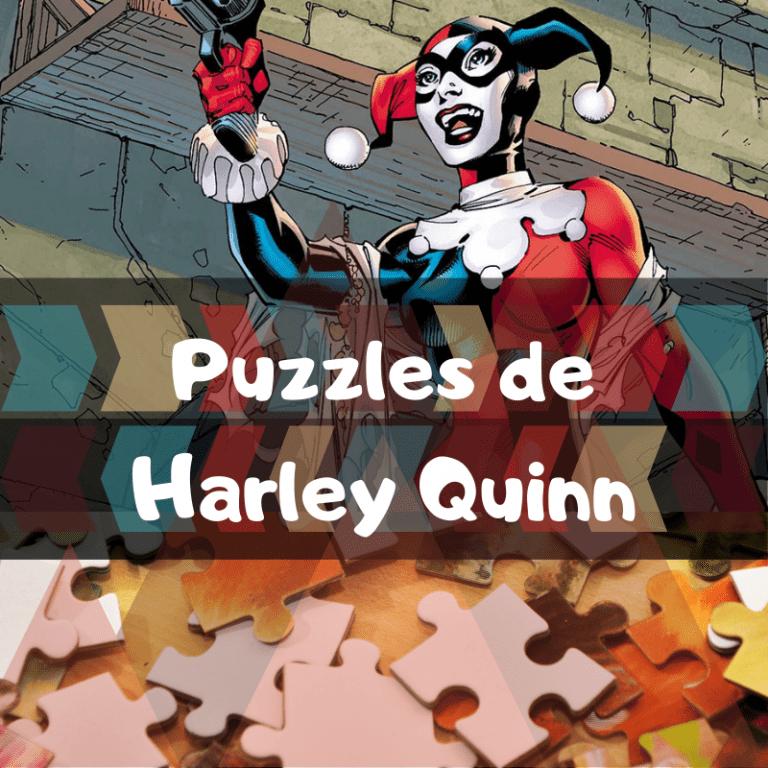 Lee más sobre el artículo Los mejores puzzles de Harley Quinn