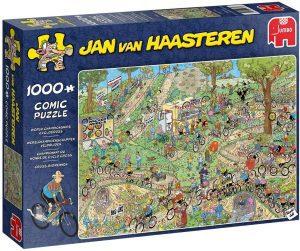 Los mejores puzzles de Jan Van Haasteren de Jumbo de 1000 piezas - Puzzle de Bicicletas