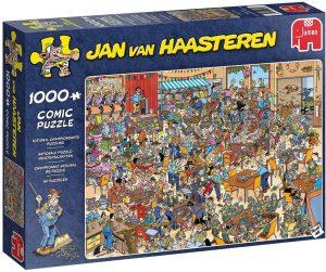 Los mejores puzzles de Jan Van Haasteren de Jumbo de 1000 piezas - Puzzle de Campeonato de juegos de mesa