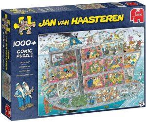 Los mejores puzzles de Jan Van Haasteren de Jumbo de 1000 piezas - Puzzle de Crucero