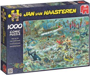 Los mejores puzzles de Jan Van Haasteren de Jumbo de 1000 piezas - Puzzle de Fondo del Mar