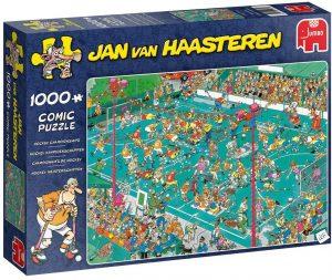 Los mejores puzzles de Jan Van Haasteren de Jumbo de 1000 piezas - Puzzle de Hockey