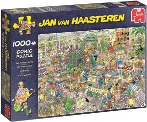Los mejores puzzles de Jan Van Haasteren de Jumbo de 1000 piezas - Puzzle de Jardín