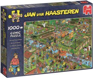 Los mejores puzzles de Jan Van Haasteren de Jumbo de 1000 piezas - Puzzle de Jardín de vegetales