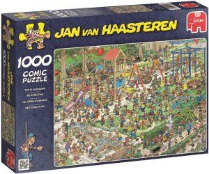 Los mejores puzzles de Jan Van Haasteren de Jumbo de 1000 piezas - Puzzle de Parque infantil