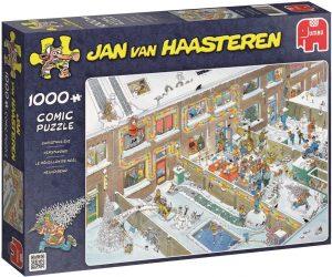 Los mejores puzzles de Jan Van Haasteren de Jumbo de 1000 piezas - Puzzle de Víspera de Navidad