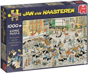 Los mejores puzzles de Jan Van Haasteren de Jumbo de 1000 piezas - Puzzle de Vacas