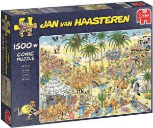 Los mejores puzzles de Jan Van Haasteren de Jumbo de 1500 piezas - Puzzle de Oasis