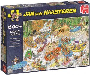 Los mejores puzzles de Jan Van Haasteren de Jumbo de 1500 piezas - Puzzle de Rafting