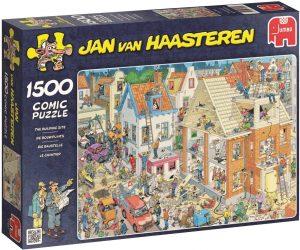 Los mejores puzzles de Jan Van Haasteren de Jumbo de 1500 piezas - Puzzle de casas