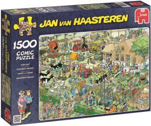 Los mejores puzzles de Jan Van Haasteren de Jumbo de 1500 piezas - Puzzle de la Granja