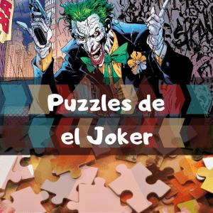 Los mejores puzzles de Joker - Puzzle del Joker - Puzzles de DC