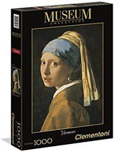 Los mejores puzzles de La joven de la perla de Johannes Vermeer - Puzzle de 1000 piezas de La joven de la perla de Clementoni