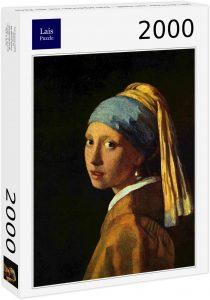 Los mejores puzzles de La joven de la perla de Johannes Vermeer - Puzzle de 2000 piezas de La joven de la perla de Lais