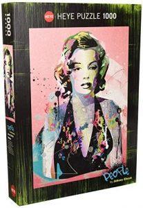 Los mejores puzzles de Marilyn Monroe - Puzzle de Marilyn Monroe de 1000 piezas de Heye