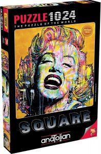 Los mejores puzzles de Marilyn Monroe - Puzzle de Marilyn Monroe de 1024 piezas de Anatolian