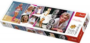 Los mejores puzzles de Marilyn Monroe - Puzzle de Panorama de Marilyn Monroe de 500 piezas de Trefl