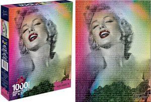 Los mejores puzzles de Marilyn Monroe - Puzzle de foto de Marilyn Monroe de 1000 piezas de Aquarius