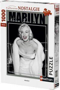 Los mejores puzzles de Marilyn Monroe - Puzzle de foto nostalgia de Marilyn Monroe de 1000 piezas de Nathan