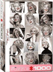 Los mejores puzzles de Marilyn Monroe - Puzzle de fotos con labios rojos de Marilyn Monroe de 1000 piezas de Eurographics