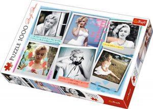 Los mejores puzzles de Marilyn Monroe - Puzzle de imágenes de Marilyn Monroe de 1000 piezas de Trefl