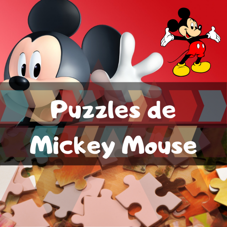Los mejores puzzles de Mickey Mouse