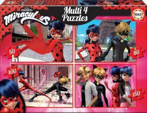 Los mejores puzzles de Miraculous Ladybug - Puzzle de Miraculous Ladybug Progresivo de Educa