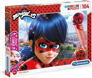 Los mejores puzzles de Miraculous Ladybug - Puzzle de Miraculous Ladybug de 104 piezas de Clementoni 2