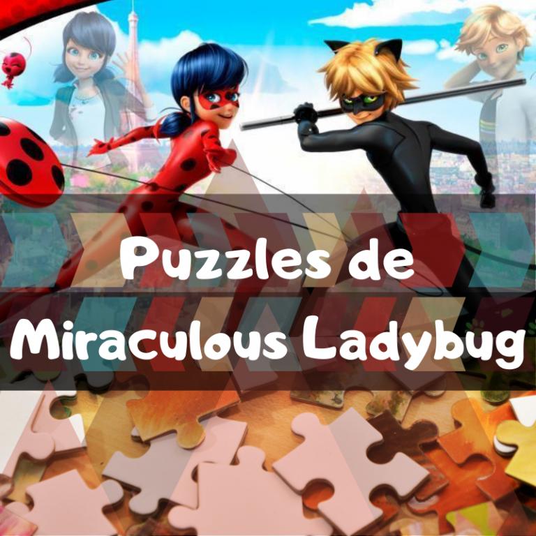 Los mejores puzzles de Miraculous Ladybug