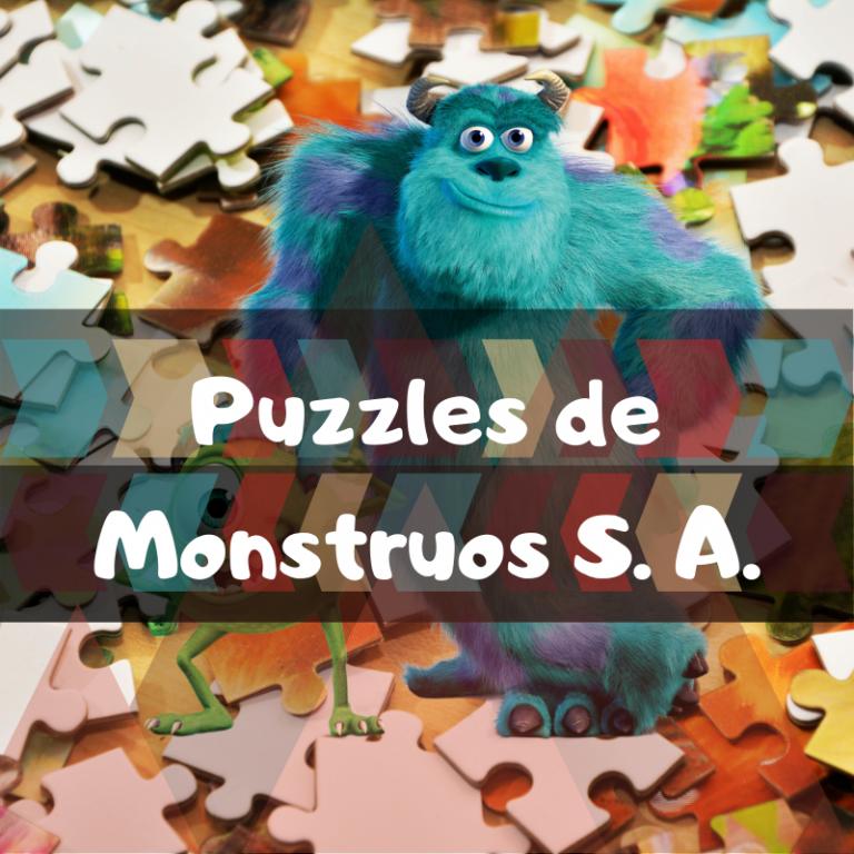 Los mejores puzzles de Monstruos S.A.
