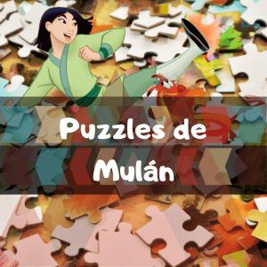 Los mejores puzzles de Mulán de Disney
