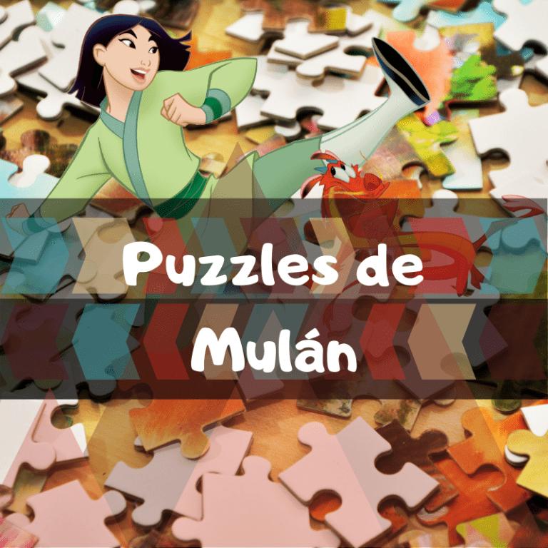 Los mejores puzzles de Mulán