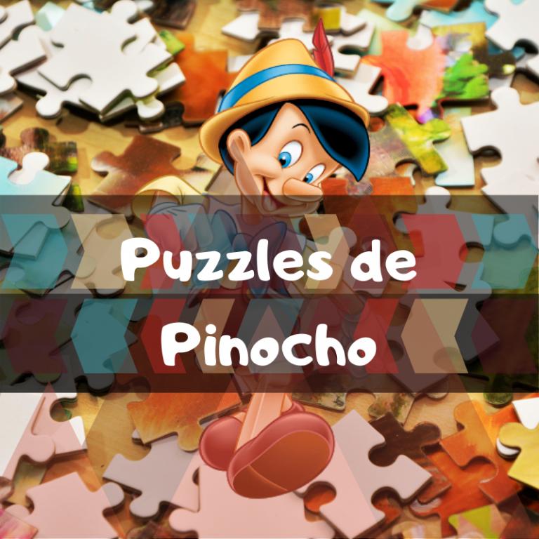 Los mejores puzzles de Pinocho