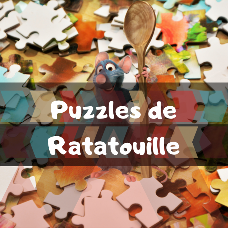 Los mejores puzzles de Ratatouille