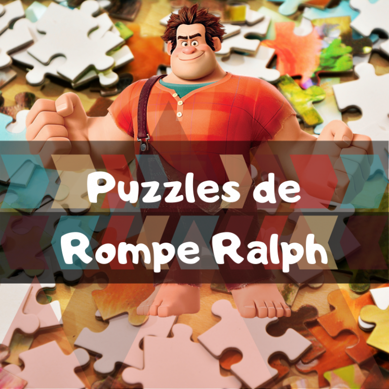 Los mejores puzzles de Rompe Ralph