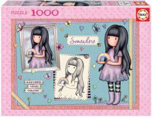 Los mejores puzzles de Santoro - Puzzle de Serie Santoro Gorjuss de 1000 piezas de Educa