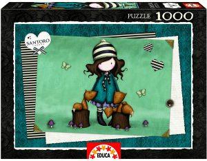 Los mejores puzzles de Santoro - Puzzle de Serie Santoro con zorros de 1000 piezas de Educa