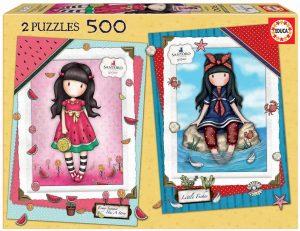 Los mejores puzzles de Santoro - Puzzle de Serie Santoro de 2x500 piezas de Educa 2