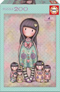 Los mejores puzzles de Santoro - Puzzle de Serie Santoro de 7 hermanas de 200 piezas de Educa