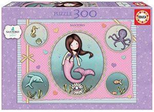 Los mejores puzzles de Santoro - Puzzle de Serie Santoro de Sirena de 300 piezas de Educa