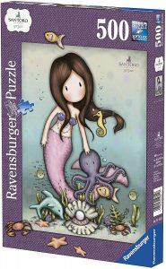 Los mejores puzzles de Santoro - Puzzle de Serie Santoro de Sirena de 500 piezas de Educa
