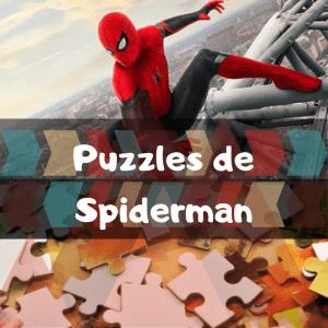 Los mejores puzzles de Spiderman de Marvel - Puzzles de Spider-Man - Puzzle del Hombre Araña