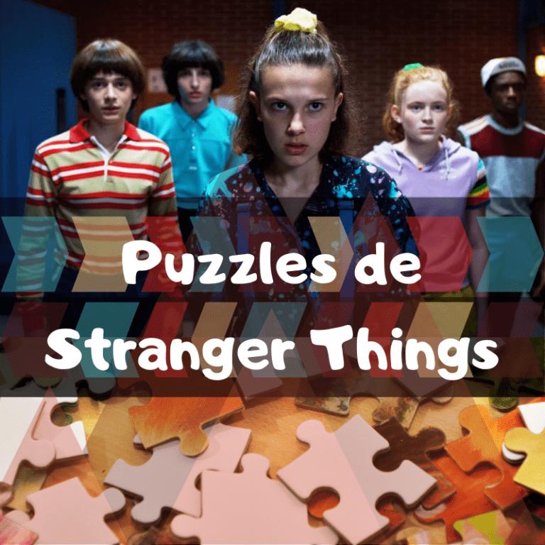 Los mejores puzzles de Stranger Things