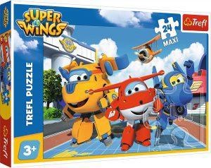 Los mejores puzzles de Super Wings - Puzzle de Super Wings de 24 piezas de Trefl